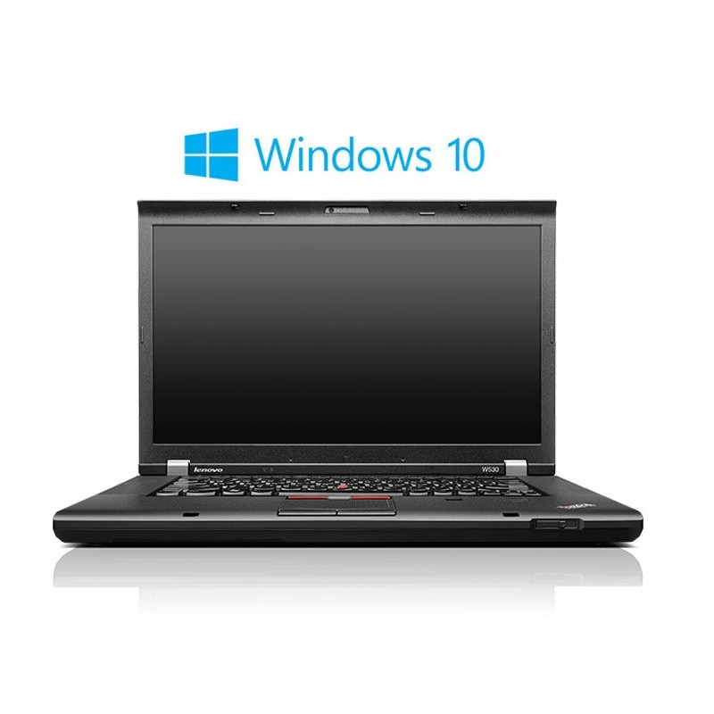 Laptop Refurbished Lenovo ThinkPad W530, i7-3740QM, Win 10 Home
